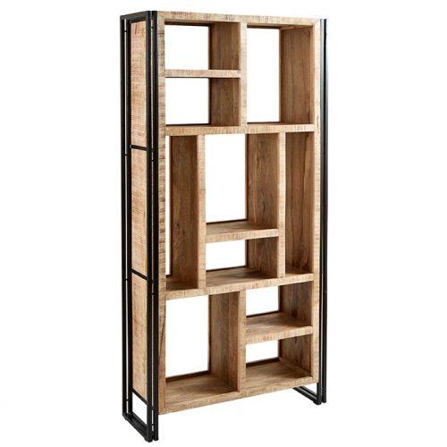 Cosmo Industrial Multi Shelf Bookcase