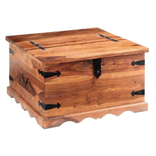 Jali Coffee Table Trunk