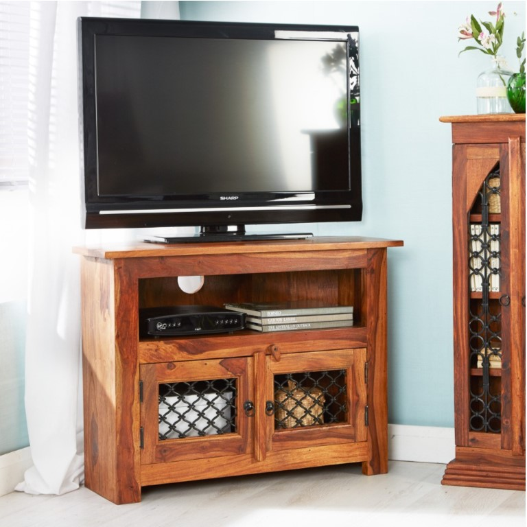 Jali Corner Tv Unit