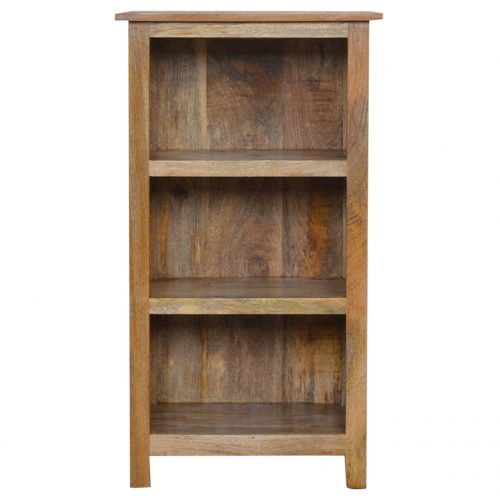 IN002102cm Rustic Bookcase 3 Shelves