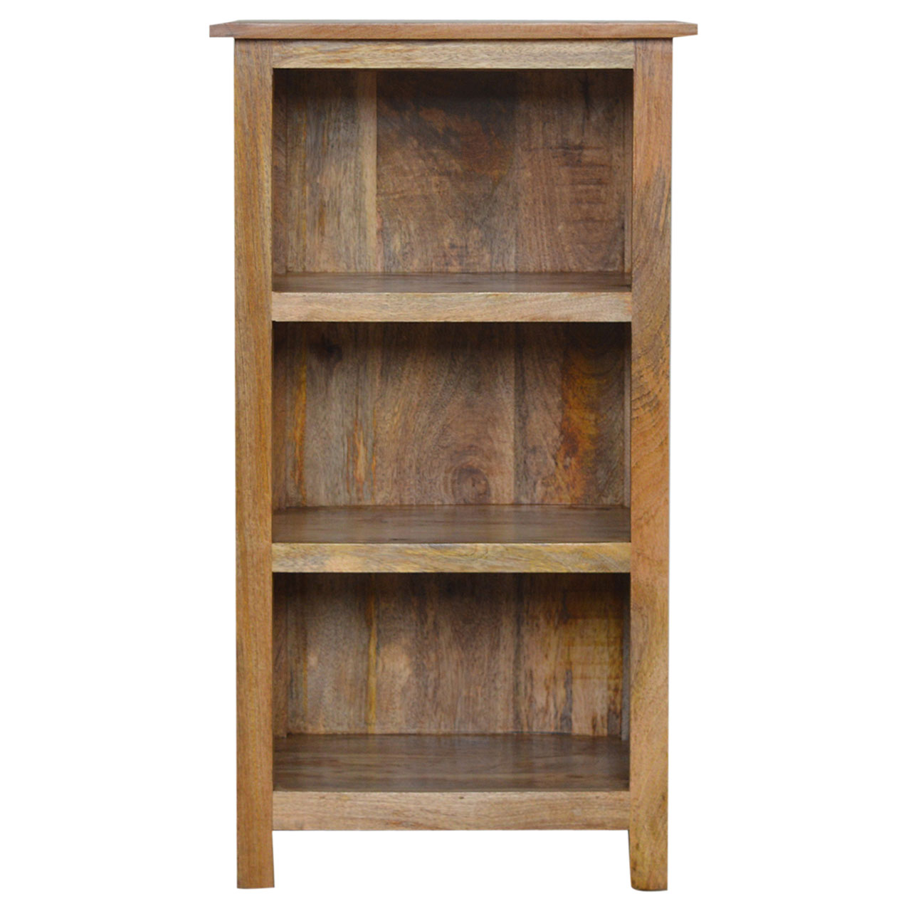 IN002102cm Rustic Bookcase 3 Shelves