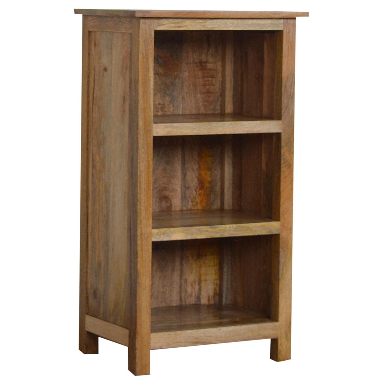 IN002 102cm Rustic Bookcase 3 Shelves