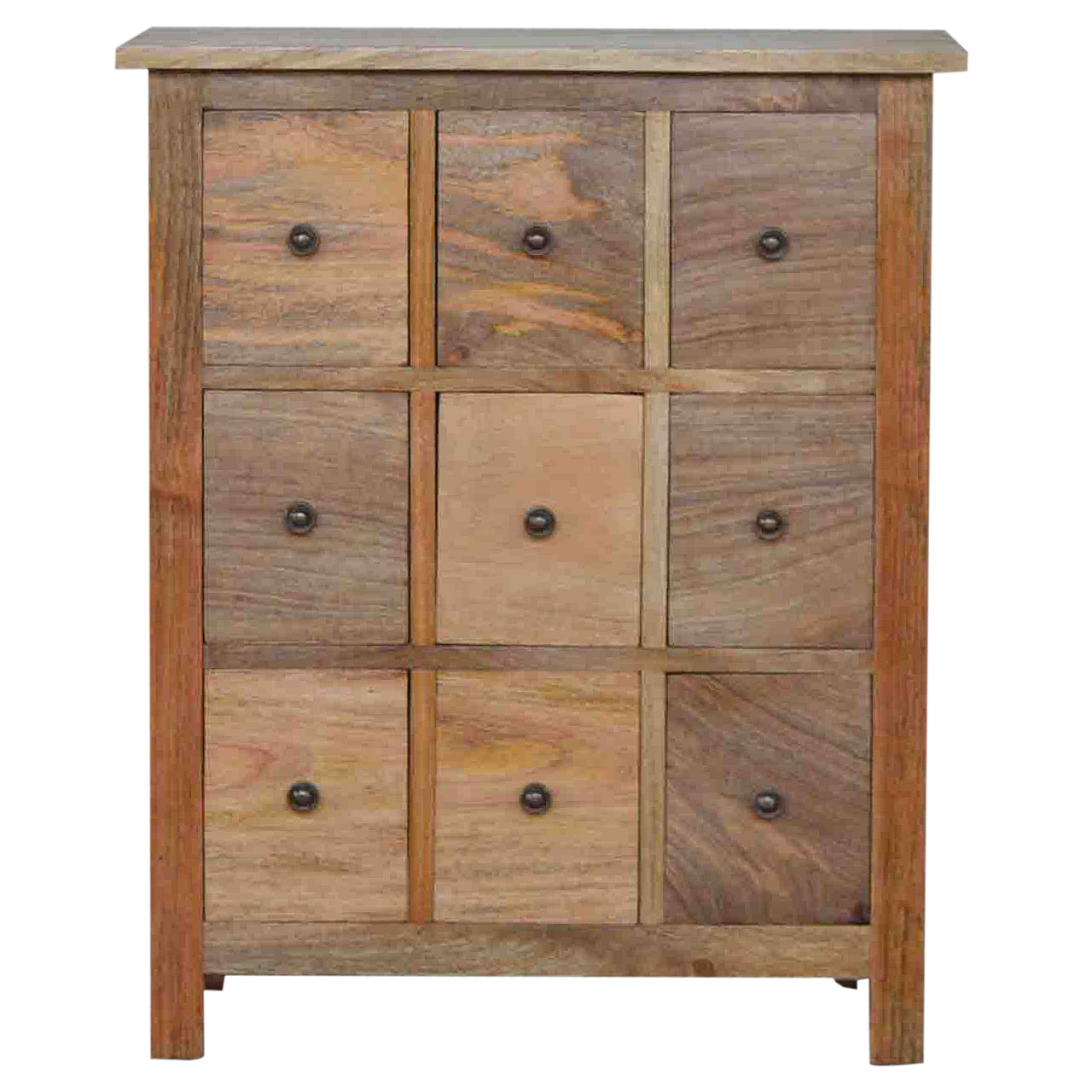 IN004 9 Drawer Chest of Drawers