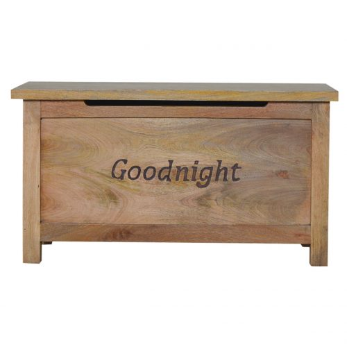 IN037 Solid Wood Blanket Box