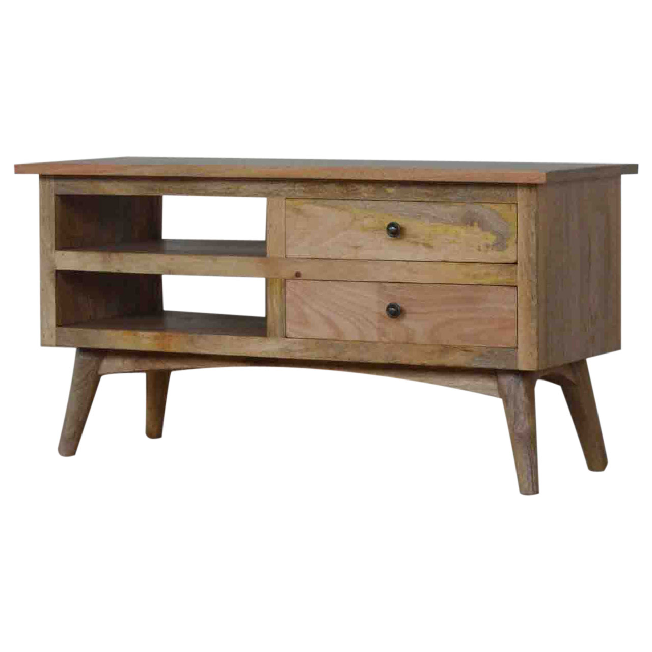 IN040 TV Stand for TVs up to 37 inch 2 Drawers and Shelf