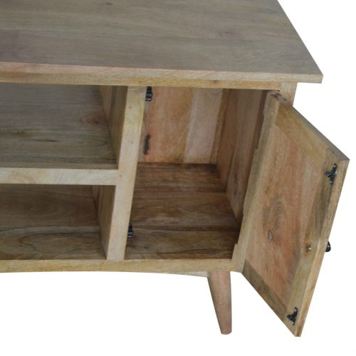 IN041 Solid wood TV Stand for TVs up to 41 inch 2 drawers