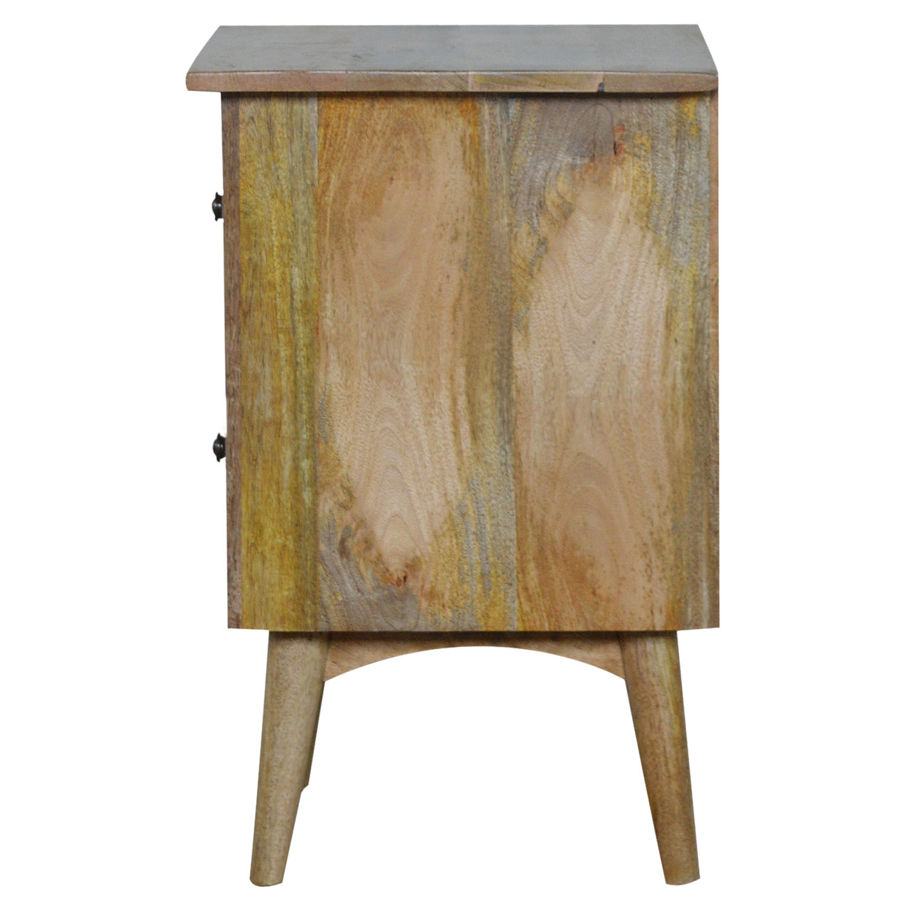 IN049 2 Drawer Bedside Table Artisan Code