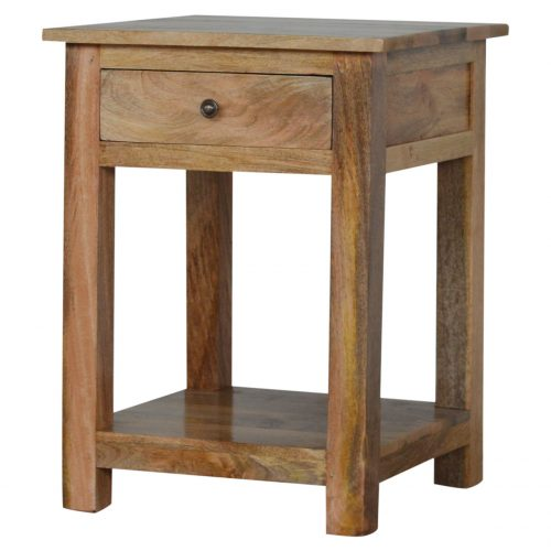 IN063 Lamp Table with Drawer