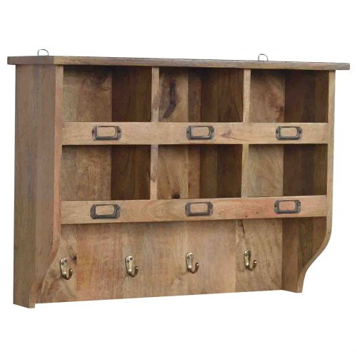 IN070 Hook & Hide Wall Mounted Unit