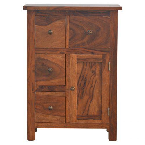 IN090 4 Drawer 1 Door Cabinet