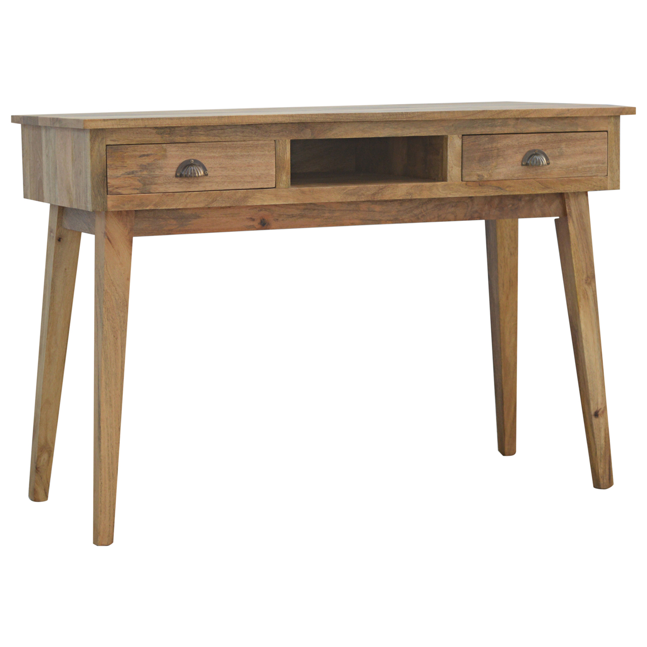 IN122 Writting Desk with 2 Drawers and Open Slot