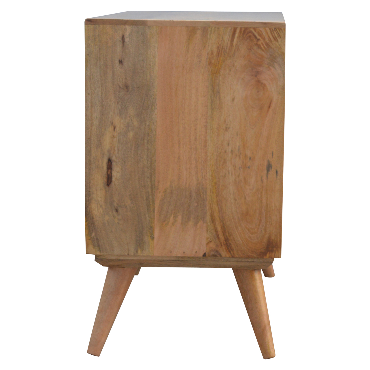 IN136 Nordic Cabinet with 4 Drawers & Sliding Cabinet