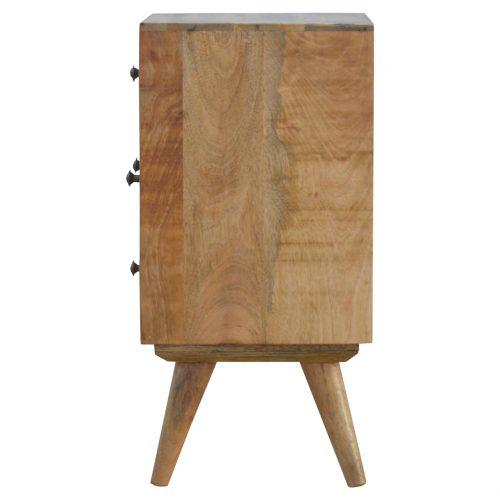 IN148 Nordic Designed 4 Drawer Petite Bedside