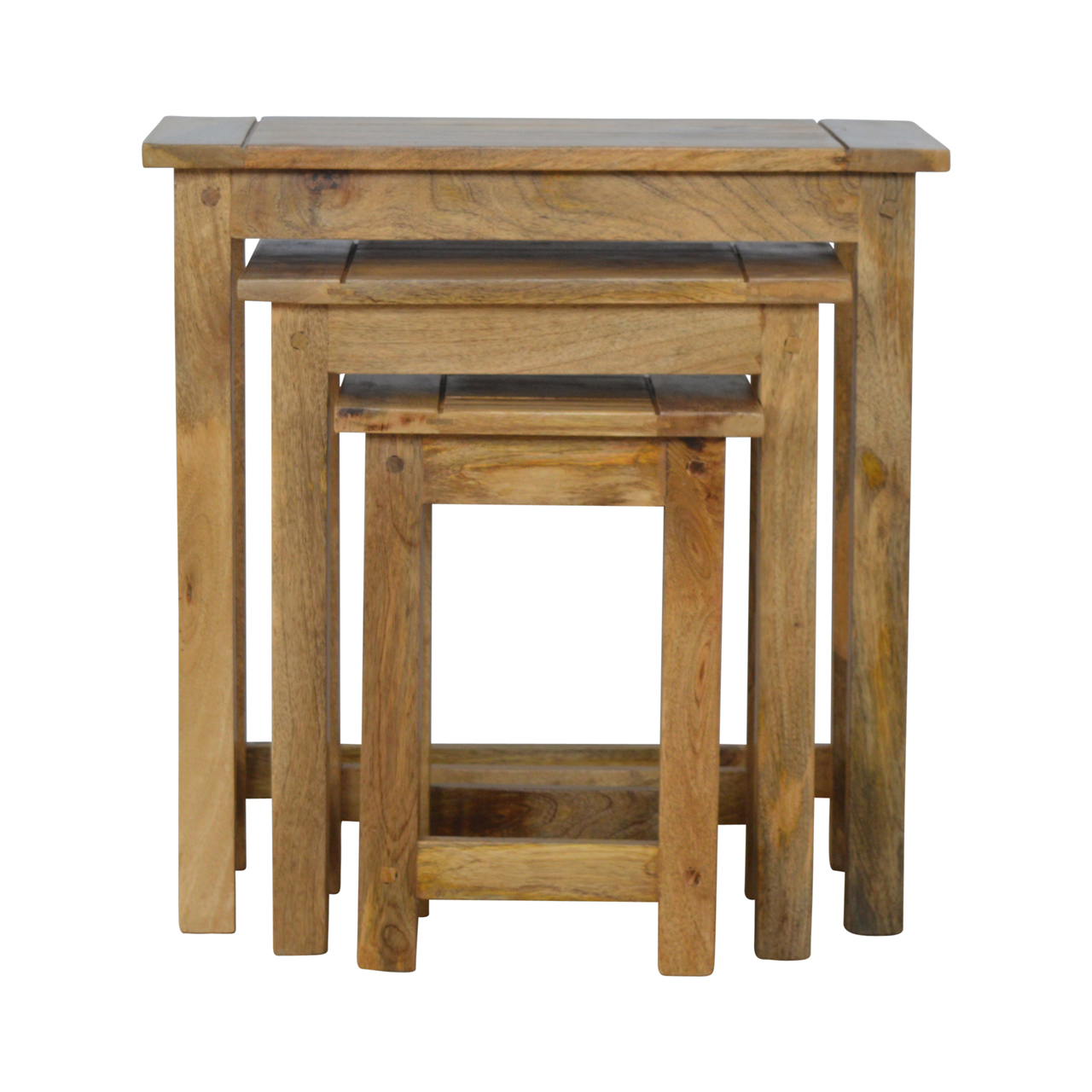 IN150 Solid Wood Stool Set of 3