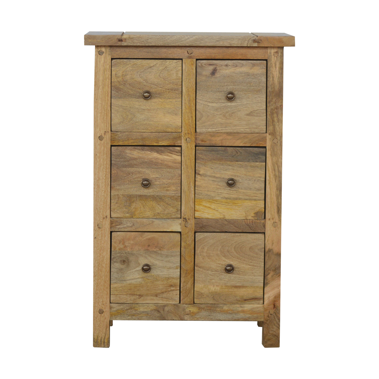 IN156 Country Style 6 Drawer CD Cabinet
