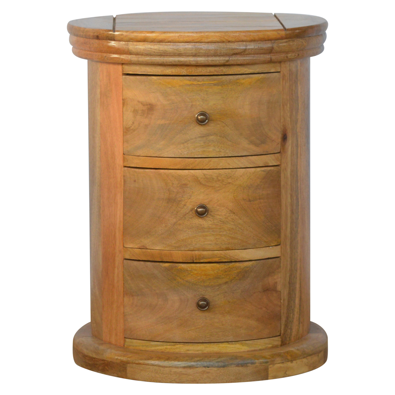 IN157 Country Style Petite Slim Drawer Chest with 3 Drawers