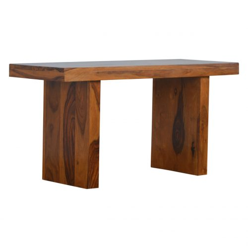 IN200 Cube Designed Sheesham Wood Bench