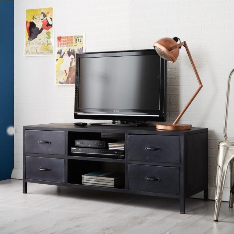 Metalica Iron TV Cabinet