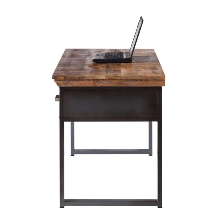 Metropolis Industrial 2 Drawer Writing Desk