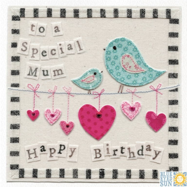 Mum Birthday Birds