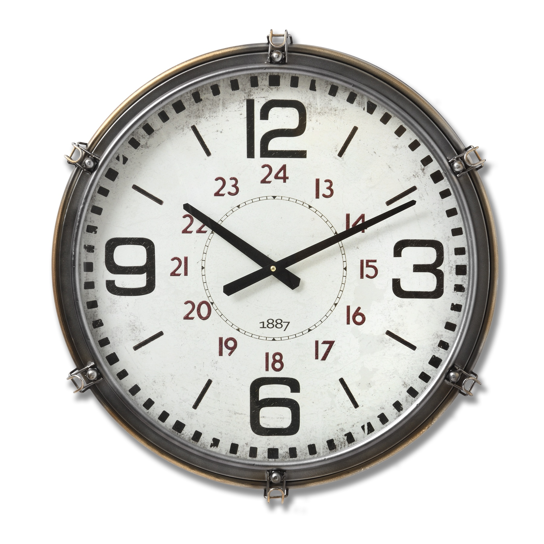 New York Retro Clock