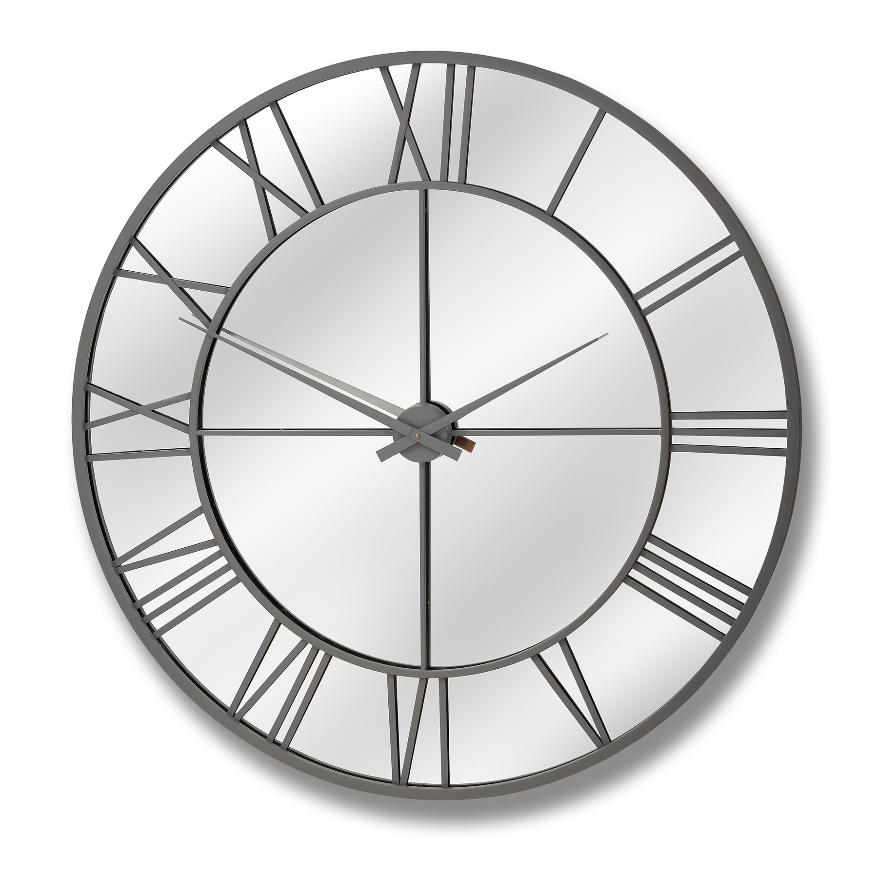 Outdoor Mirrored Wall Clock
