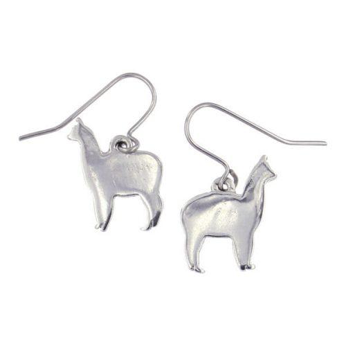 St Justin Llama Drop Earrings