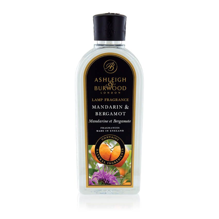 Ashleigh & Burwood: Lamp Fragrance - Mandarin & Bergamot 500ml