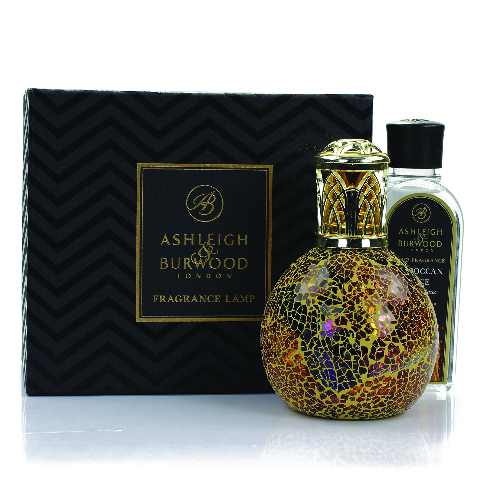 Ashleigh & Burwood: Fragrance Lamp Gift Set - Egyptian Sunset & Moroccan Spice