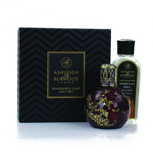 Ashleigh & Burwood: Fragrance Lamp Gift Set - Dragon's Eye & Moroccan Spice