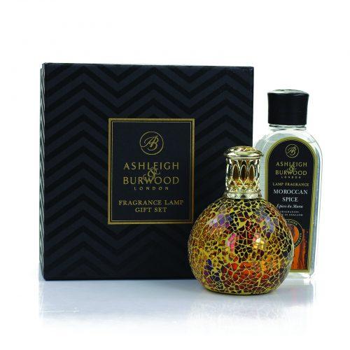 Ashleigh & Burwood: Fragrance Lamp Gift Set - Golden Sunset & Moroccan Spice
