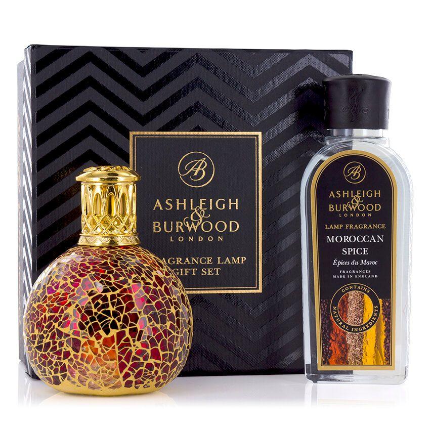 Ashleigh & Burwood: Fragrance Lamp Gift Set - Tahitian Sunset & Moroccan Spice