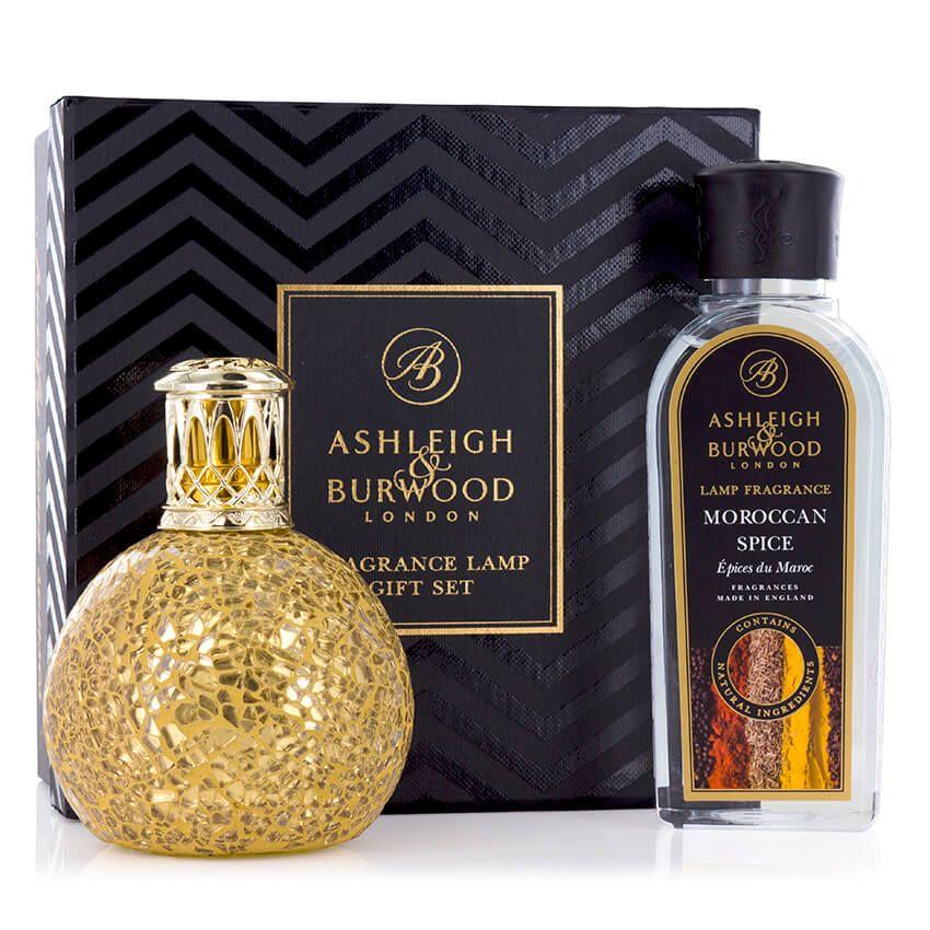 Ashleigh & Burwood: Fragrance Lamp Gift Set - Golden Orb & Moroccan Spice