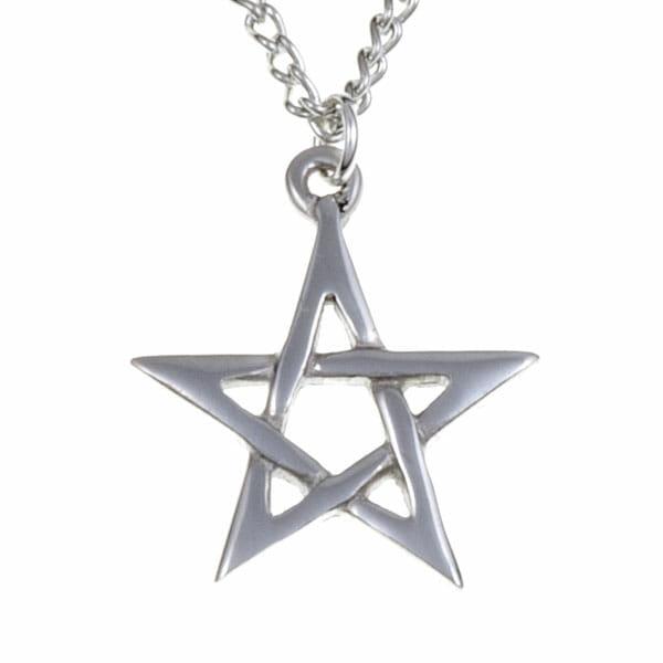 St Justin Small Pentagram Pendant