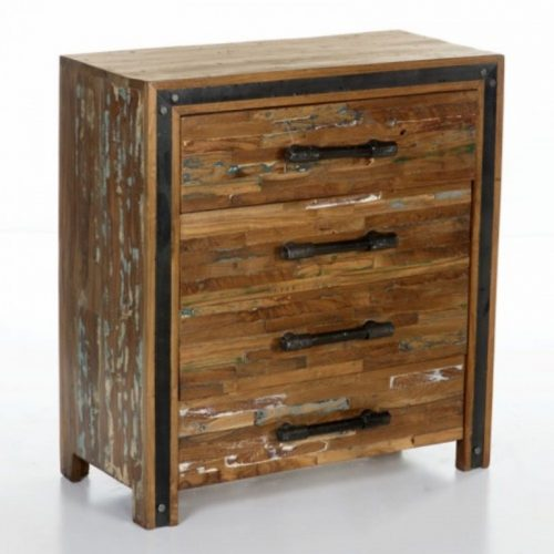 Reclaimed Industrial Chest of Drawers