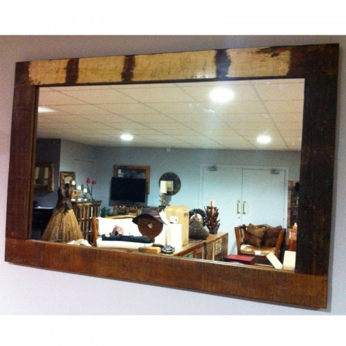 Reclaimed Rectangular Mirror