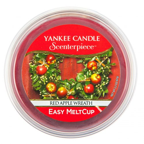 Red Apple Wreath Scenterpiece Melt Cups