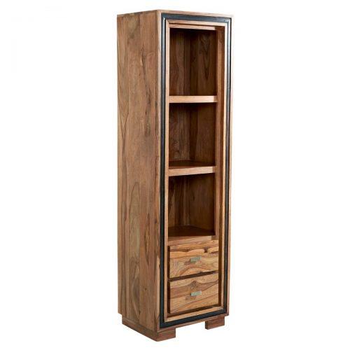 Jodhpur Sheesham Slim Bookcase