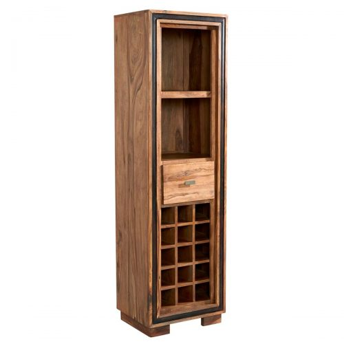 Jodhpur Sheesham Wine Bookcase