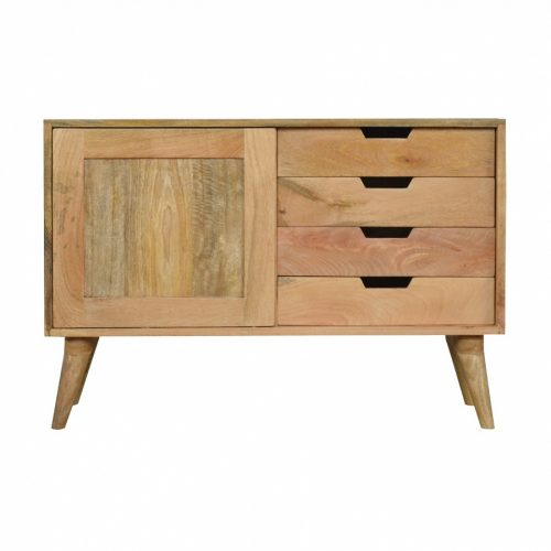Sliding Cabinet with 4 Drawers