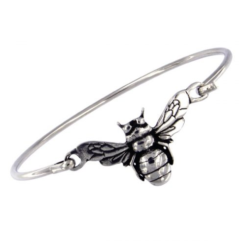St Justin Bee Clip Bangle