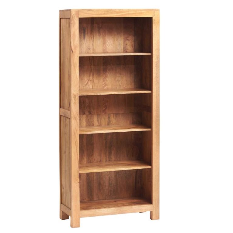 Toko Light Mango Large Open Bookcase