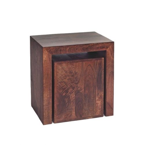 Toko Mango Cubed Nest of 2 Tables