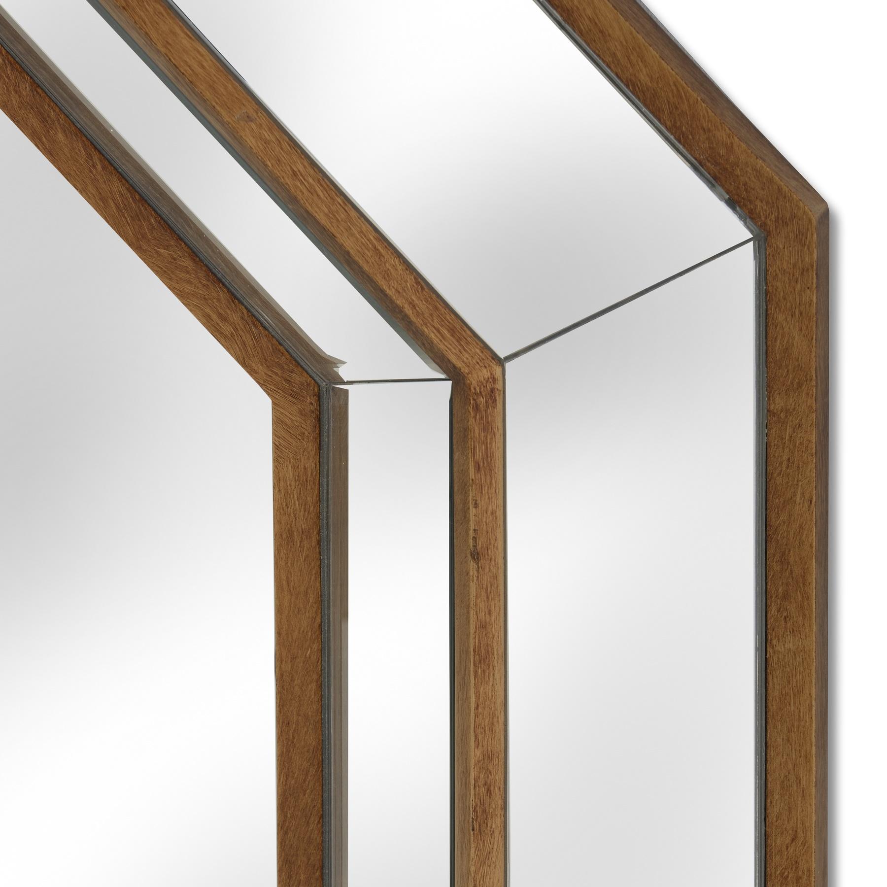 Venetian Mirrored Octagonal Wall Mirror
