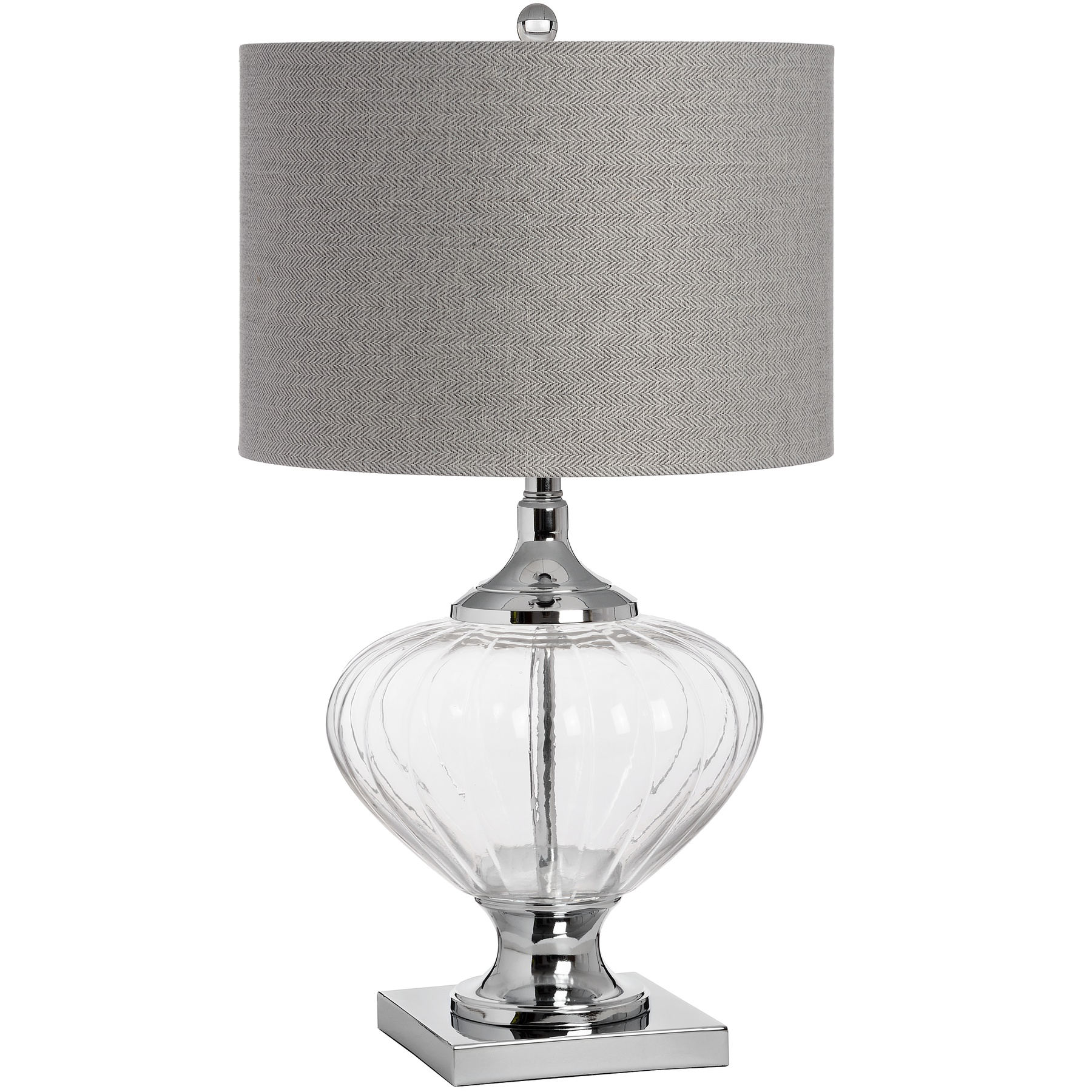 Verona Glass Table Lamp