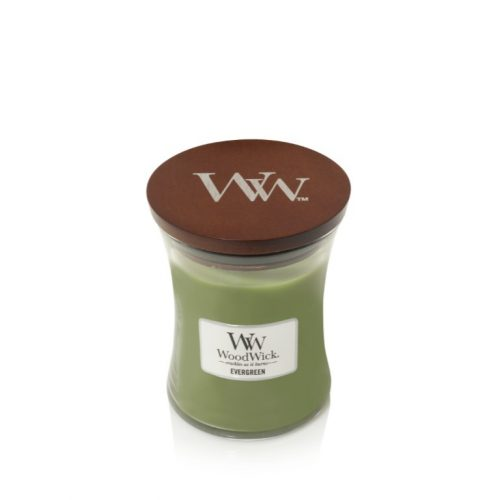 WoodWick Evergreen Medium Hourglass Candle