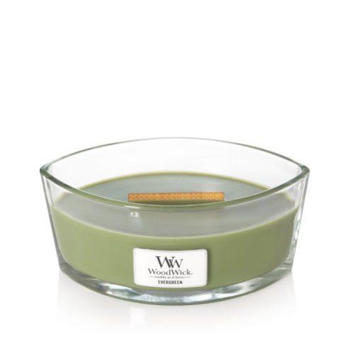 Woodwick Evergreen Ellipse Candle