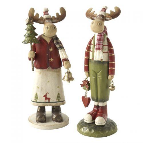 Standing Wooden Reindeer Mix