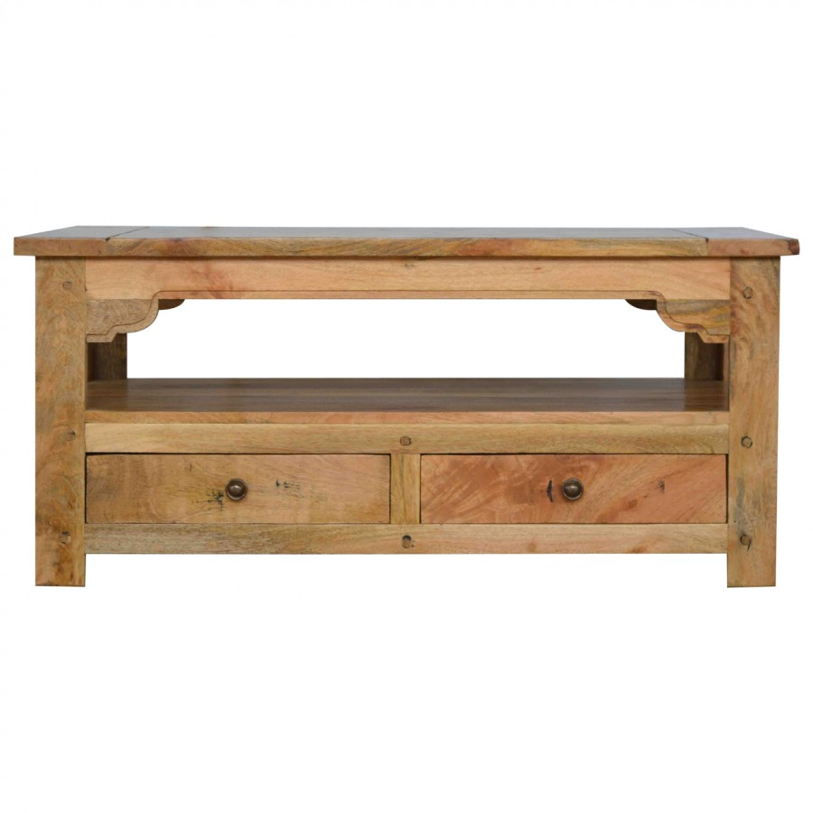 Granary Royale Coffee Table with 4 Drawers