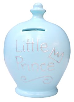 S164 Baby Blue with Little Prince in Silver
